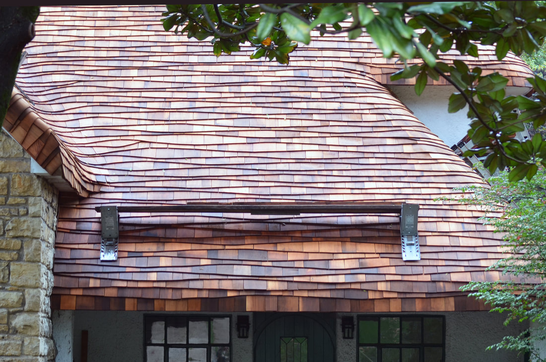 Crs Roofing Artisans The Premier Wave Course Steam Bent Thatch And Cedar Experts In The Country